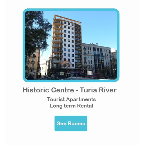 HICTORIC CENTRE – TURIA RIVER
